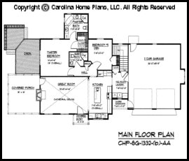 SG-1332 Main Floor Plan