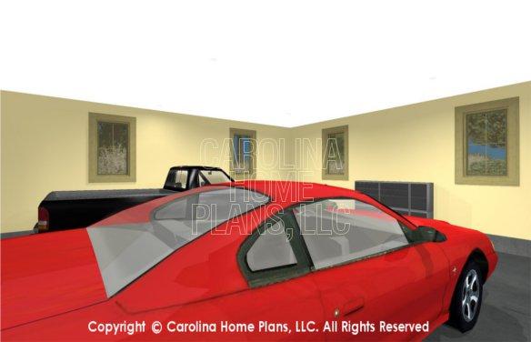 SG-1677 3D 2-Car Garage