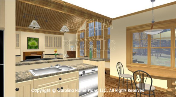 SG-1688 3D Kitchen To Great Room