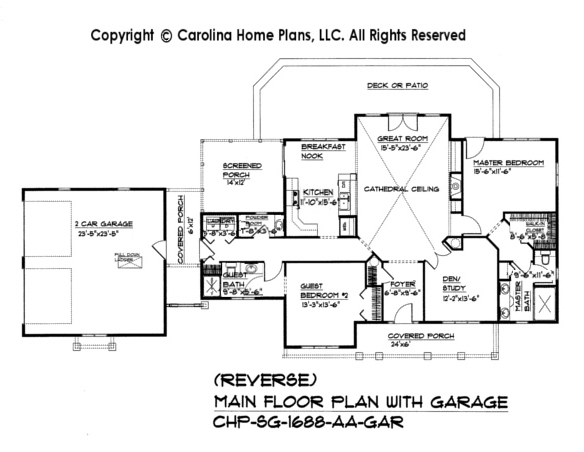 cabin house plan chp sg 1688 aa sq ft affordable small home plan