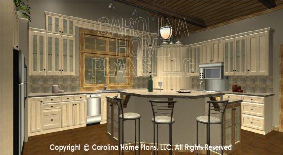 SG-1799 3D Kitchen