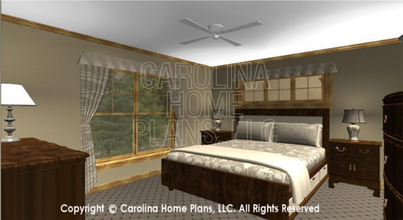 SG-1799 3D Master Bedroom
