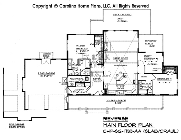 Small craftsman style home plan sg 1799 sq ft affordable Slab home floor plans