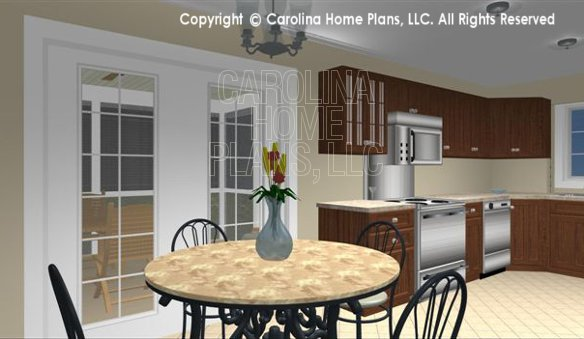 SG-1016 3D Dinette and Kitchen