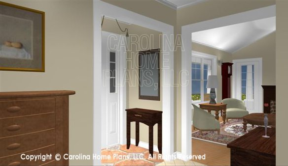 SG-1016 3D Foyer and Living Room