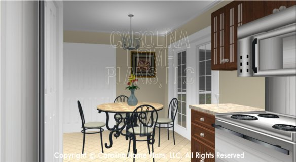 SG-1016 3D Kitchen to Dinette