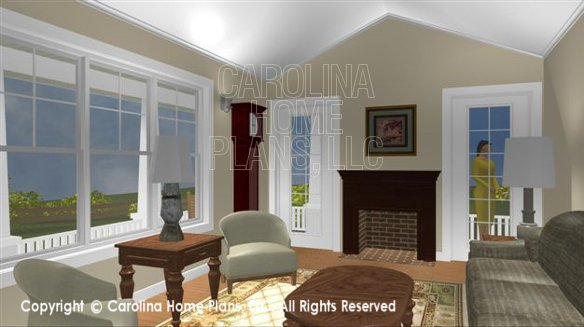 SG-1016 3D Living Room