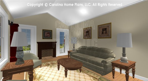 SG-1016 3D Living Room to Porch