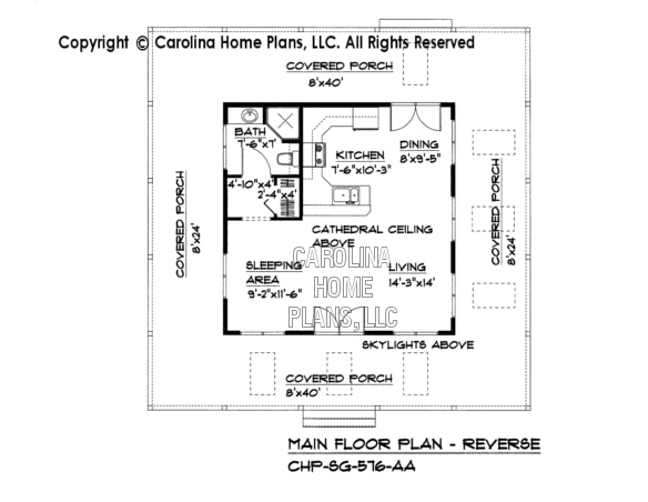 Tiny cottage style house plan sg 576 sq ft affordable for Cost to build a 576 sq ft house