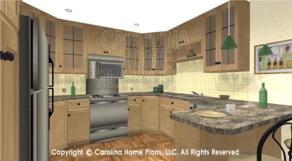 SG-979 3D Kitchen