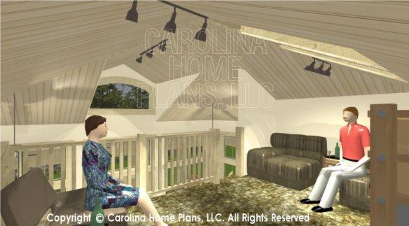 SG-979 3D Loft To Great Room & Dormer