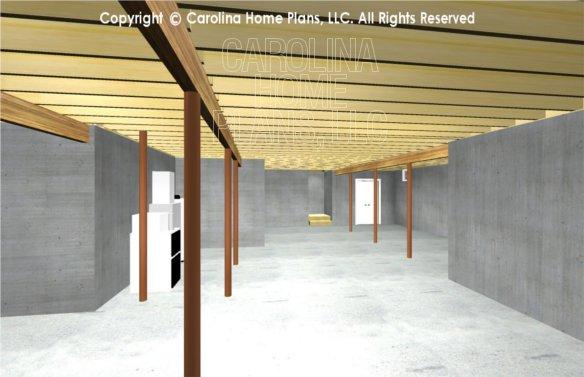 SG-1096 3D Basement Stairway