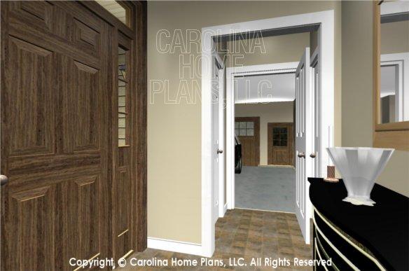 SG-1096 3D Foyer to Garage