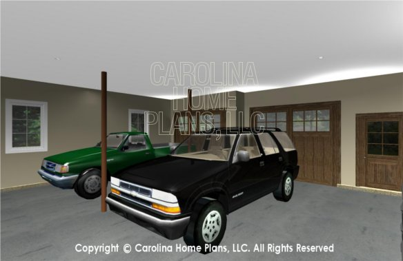 SG-1096 3D Garage