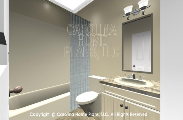 SG-1096 3D Guest Bath