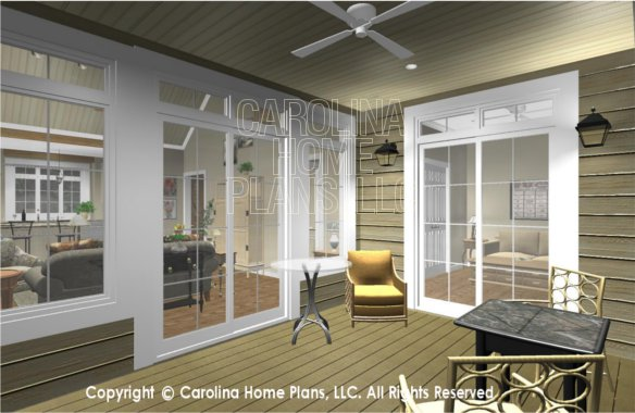 SG-1096 3D Screened Porch to Great Room