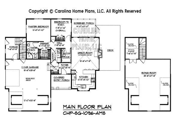 SG-1096 Main Floor Plan