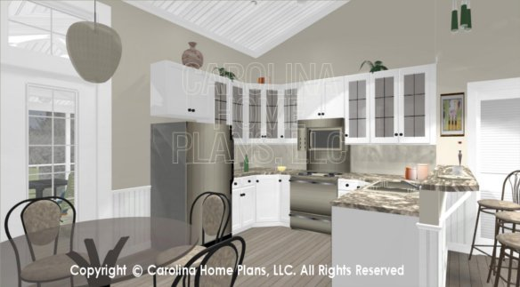 SG-676 3D Dining to Kitchen