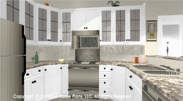 SG-676 3D Kitchen