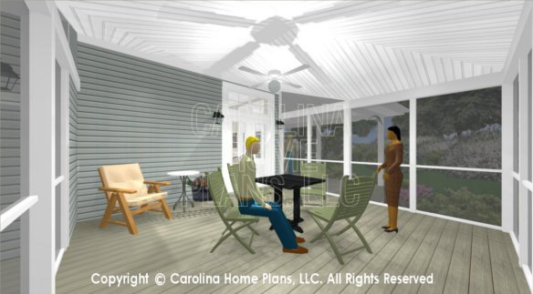 SG-676 3D Screened Porch