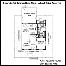 SG-676 Main Floor Plan