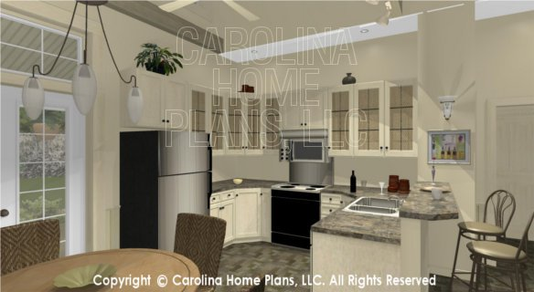SG-947 3D Dining to Kitchen