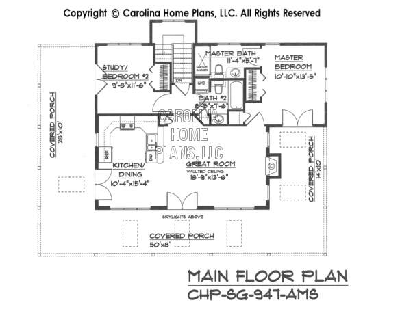 sg947ams floor plan small country guest cottage house plan sg 947 ams sq ft,House Plans Llc