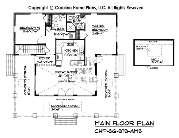 SG-979 Main Floor Plan