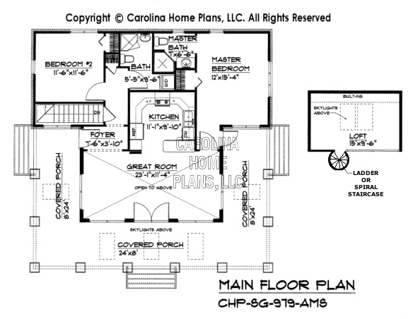 Small House Plans With Loft Under 1000 Square Feet Joy